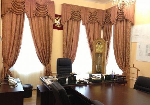 Шторы в кабинет